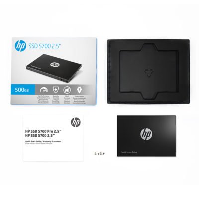 "HP SSD | S700 2 5"" - Faster Sata connection device"